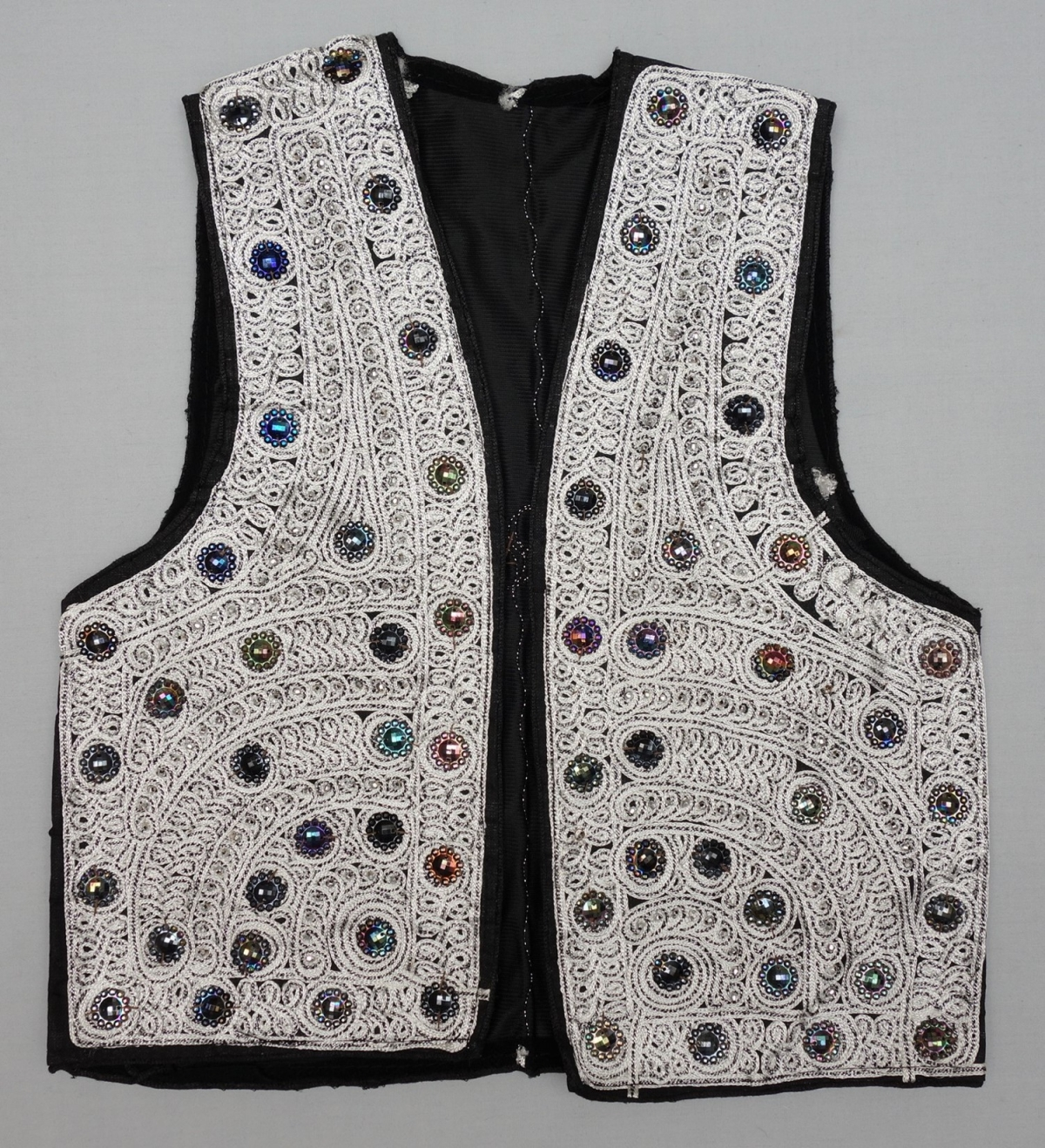 Waistcoat (waskat) from Kandahar, South Afghanistan. 2010.