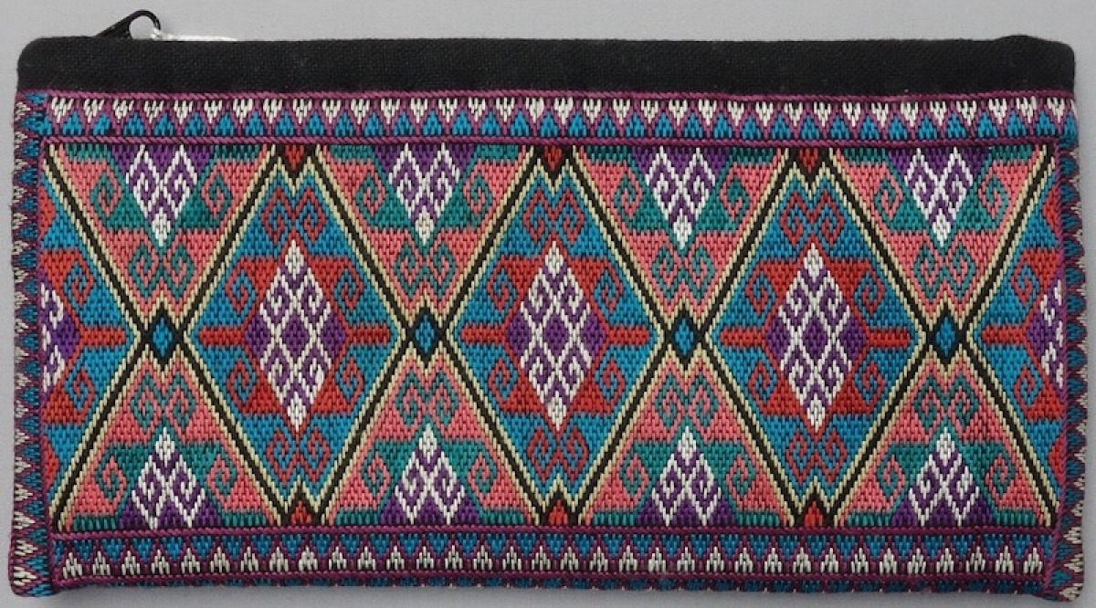 An embroidered Hazara-style woman's bag, Afghanistan, early twenty-first century.