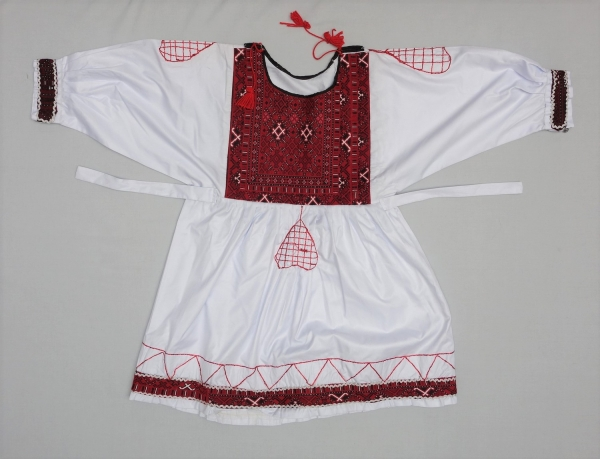 Tunic for a Pashtun boy attending the Atan dance. Early 21st century.
