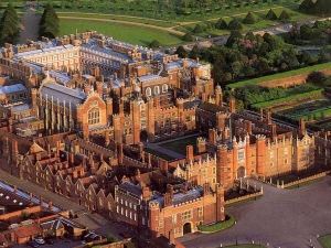 Hampton Court Palace, the home of the Royal School of Needlework.