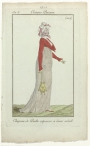 Lady carrying a reticule. Parisian fashion, AD 1800.