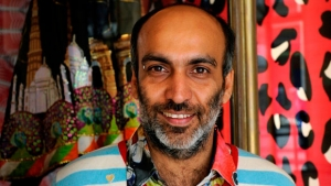 The Indian fashion designer, Manish Arora.