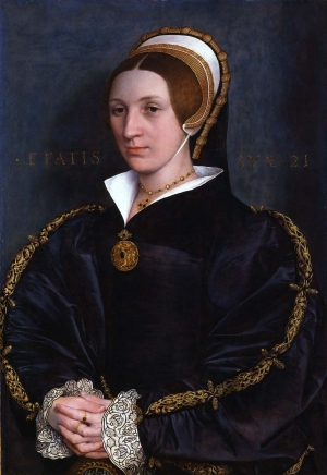 Portrait of a Young Lady, by unknown artist.