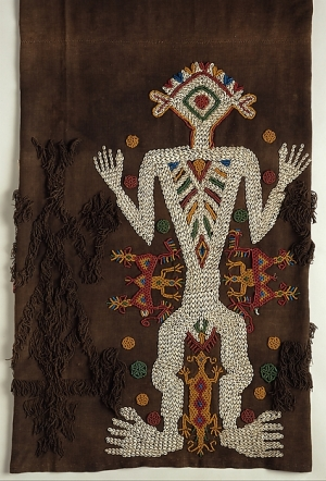 Ceremonial beadwork skirt from Sumba, East Nusa Tenggara, Indonesia. Early 20th century.