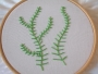 Example of the fern stitch.