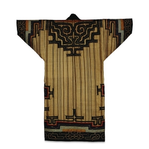 Ainu tunic made from attush. Mid-19th century.