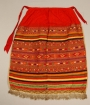 Woman's apron from Russia, c. 1895-1910.
