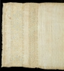 Piece of linen cloth with silk thread embroidery, which was perhaps used as a coverpane. Italy, early 16th century.