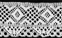 Example of torchon lace.