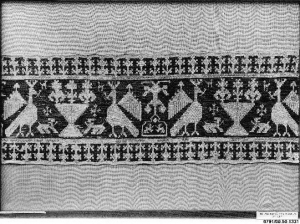 Example of Azemmour embroidery, Morocco, 18th century.