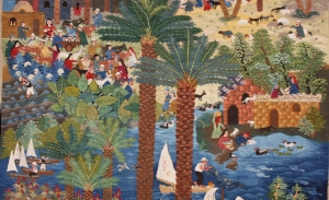 Example of Wissa Wassef tapestry.