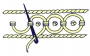 Schematic drawing of the guilloche stitch.