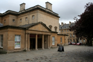Assembly Rooms, Bath, England.