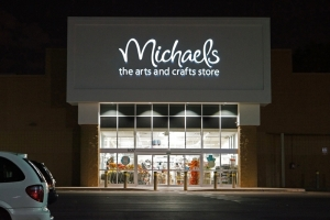 One of the Michaels Arts and Crafts stores, in  Saigus, Massachusetts, USA.