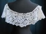 Bobbin lace bertha collar.