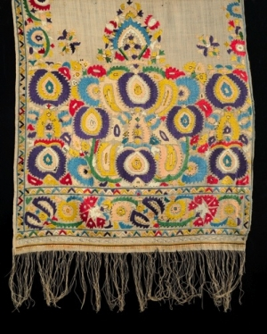 Example of Tetouan embroidery, 18th century.