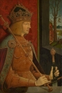 Maximilian I, by Bernhard Strigel (1460-1528).