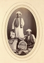 Two cloth and embroidery sellers,