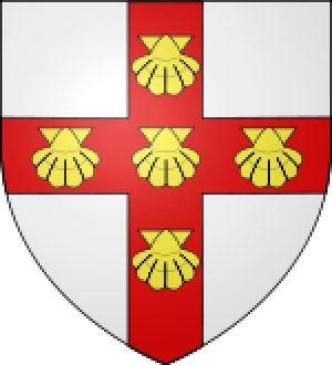 Coat of arms of the Hangest family.