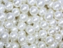 Collection of pearl beads.