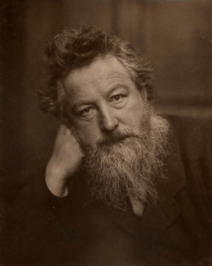 William Morris, 1834-1896.