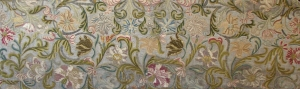 Detail of the Sicilian Altar Frontal, St. Paul's Cathedral, London, mid-17th century.