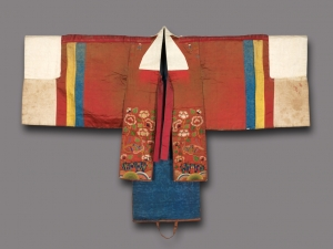 Bride's robe from Korea, 19th century.
