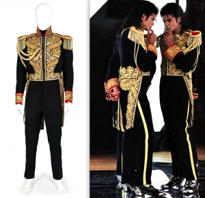 'Bad' embroidered tailcoat of Michael Jackson