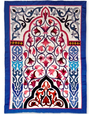 Appliqué panel from the Street of the Tentmakers, Cairo, Egypt.