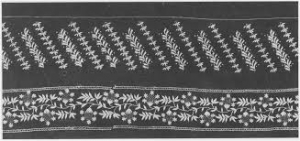 Example of early 19th century Kells lace from Ireland.