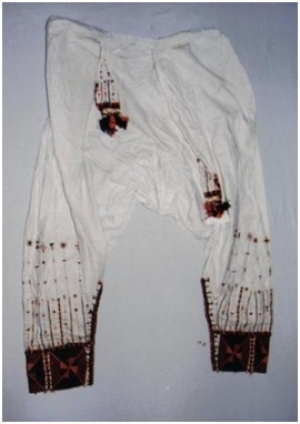 Bridal trousers, Siwa oasis, Egypt.