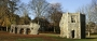 Remains of the abbey of Bury St Edmunds.