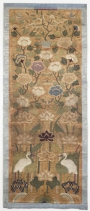 Bridal panel for an over-robe from Korea, 18th-19th centuries.