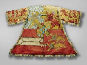 Herald's tabard, worn at the funeral of Prins Frederik Hendrik, stadhouder of The Netherlands, in Delft on 10 May 1647.