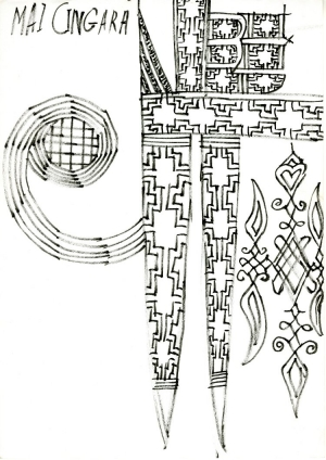 Design drawing from Kano, Nigeria, c. 2010.