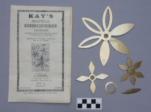 Example of Kay's Practical Embroiderer kit.