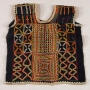 A Wodaabe embroidered woman's top from Niger, late 20st century.