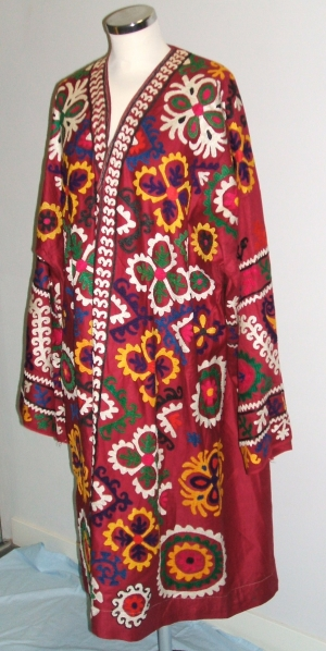 Modern Uzbek woman's coat from Afghanistan.