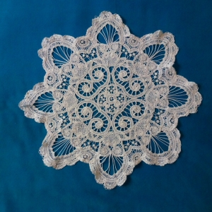 Piece of Brussels tape lace.