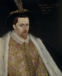 James VI of Scotland, by Anton Vanson, 1595.