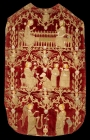 Chasuble decorated with Opus Anglicanum, early 14th century, Britain.