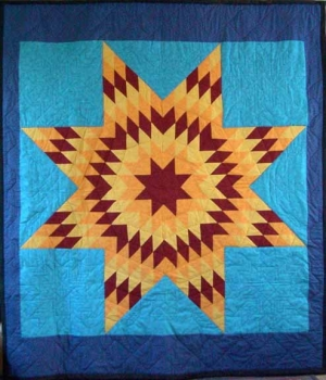 A Spectacular Collection of Native American Quilts | Arts ... |Indian Star Quilts