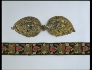 Embroidered belt, late 18th - early 19th centuries, Cyprus.