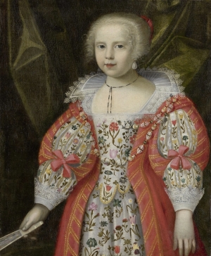 Portrait of a Young Girl. Artist unknown. Early 17th century. UK.