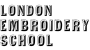 Logo of the London Embroidery School.
