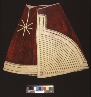 Skirt of a kiswa al-kabira, Morocco, acquired in 1969.