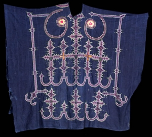 Tuareg embroidered men's gown.