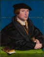 Portrait of Hermann von Wedig III, by Hans Holbein the Younger (painted in 1532).