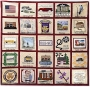The Middlesex Borough Commemorative Quilt. USA, early 21st century.