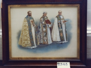Bishops carrying regalia (1911), by Alfred Pearse (1855-1933).
